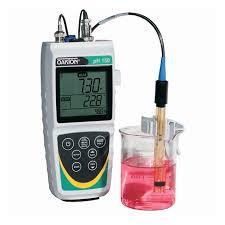 Ph Meter Calibration Oakton Waterproof Ph 150 Portable Meter Ph Meter With Nist Traceable