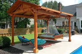 Free Standing Patio Cover Kits With Easy DIY Installation Backyard