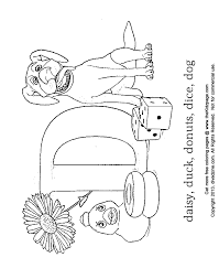 Letter D Coloring Abc S Free Coloring Pages For Kids Printable