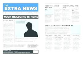 Newspaper Article Word Template Free Newspaper Article Template Tabloid Paper Design Best