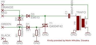 ktm sem ignition cdi for single cylinder schematic