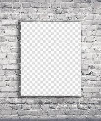 gray brick wall laundry room wall