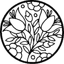 coloring book pages for kids easy coloring book pages free printable mandala coloring pages flowers in