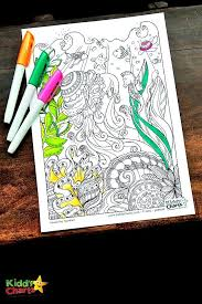 Create your own coloring book for kids of all ages. Ocean Coloring Pages For Kids And Adults
