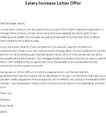 Sample Salary Negotiation Letter For Job Offer Counter The Of