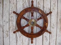 nautical wheel wall decor