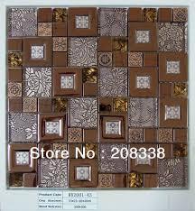 Mosaic Tiles In Kitchen Aliexpresscom Buy Metal Mosaic Tilesbathroom Mosaic Tiles
