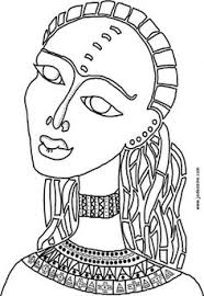 Small Picture Free coloring page coloring adult african mask Coloring picture