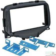 Переходная <b>рамка</b> 2DIN для автомобилей <b>Toyota Aygo</b> 2014 ...