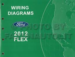 2012 ford flex wiring diagram manual original