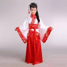 Ancient Chinese Clothing Designs Girl Ancient Chinese Traditional National Costume Hanfu Red