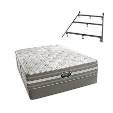 beautyrest recharge box spring. Smyrna Cal King Size Plush Mattress And Standard Box Spring Set With Frame Simmons Beautyrest Recharge