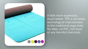 11 heathyoga eco friendly non slip yoga mat body alignment system sgs certified tpe material