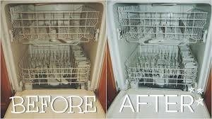 See Through Dishwasher How To Clean Your Dirty Dishwasher With Baking Soda Vinegar