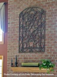 cast iron welcome sign hanging metal scroll tuscan plaque decor garden rustic pinterest iron metals and ebay on cast iron outdoor wall art with cast iron welcome sign hanging metal scroll tuscan plaque decor