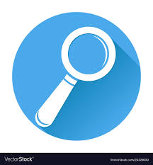 magnifying glass icon blue. Exellent Magnifying Throughout Magnifying Glass Icon Blue