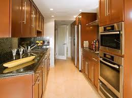 Long Kitchen Ideas Extraordinary Design Narrow Layout Modern