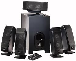 speakers with subwoofer. logitech-x-540-5-1-surround-sound-speaker- speakers with subwoofer w