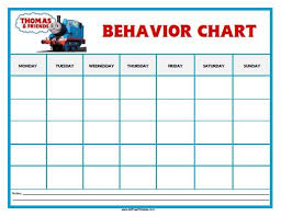 Thomas And Friends Reward Chart Free Printable Thomas Tank Engine Behavior Chart Behaviour