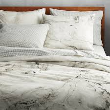 marbleized full queen duvet cover