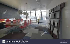 conference room design ideas office conference room. Modern Conference Room In A Company Office With Grey Decor And Red Chairs Along The Long Meeting Table View Windows Overlooking City At Far End. Design Ideas Y
