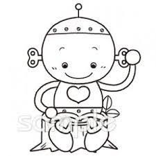 読書 ロボットイラストなら小学校幼稚園向け保育園向けのかわいい