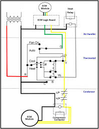 correct ecm fan controll wiring total performance diagnostic for Condenser Contactor Wiring 2 ecm low voltage condenser contactor wiring