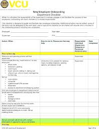 New Employee Template Welcome Email Hr Checklist Interview Audit Example