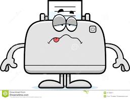 Image result for cartoon printer