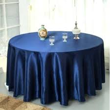 120 navy tablecloth lily embossed satin round blue 120 navy tablecloth blue round a tablecloths