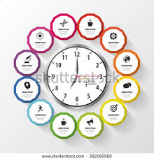Infographic Design Template Business Plan Modern Stock Vector ...