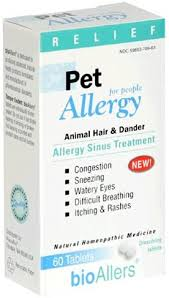 bioAllers Pet Allergy Relief Tablets for People, Animal ... - Amazon.com