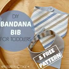 Bandana Bib Pattern Interesting Bandana Bib Pattern Free AppleGreen Cottage