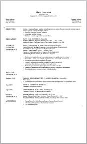 Does Word 2007 Have Resume Templates Resume Template Word 24 Resume Template Free Career Resume Template 1