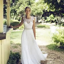 boho dresses wedding. Lace Wedding Dress Lace Boho Wedding from BailynnBouNique on Etsy