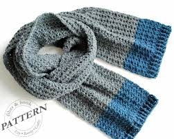 Mens Scarf Crochet Pattern Gorgeous New Mens Crochet Scarf Free Pattern Crochet Pattern Isle Of Man