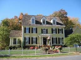 House With Black Trim House Shutters Exterior Colors Yellow Body White Trim Black