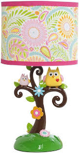 owl lamp nursery lighting and ceiling fans