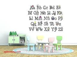 alphabet letters for wall wall letters vinyl wall decals kids new wall decor letters stickers colorful