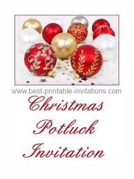 free christmas dinner invitations magnificent christmas potluck invitation template free theruntime com