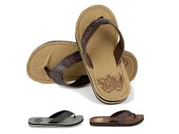 mens boys urban beach sandals faux leather flip flops toeposts holiday size 6 11