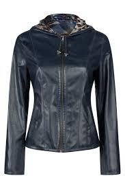 <b>Кожаная куртка MIO CALVINO</b> арт MIOAK10088W_NAVY ...