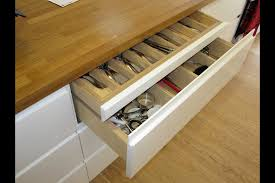 Drawers For Kitchen Cabinets Fabulous Wooden Countertops For White Kitchen Cabinetry Added Pull