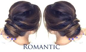 Different Bun Hairstyles 5 Minute Romantic Bun Hairstyle Easy Updo Hairstyles Youtube