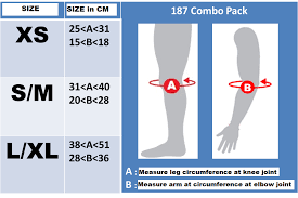 187 Combo Pack Knee And Elbow