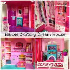 barbie 3 story dream dollhouse