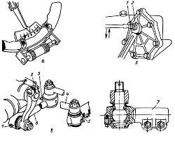 Ремонт рулевого управления Камаз ООО Эверест  Проверка и регулировка привода рулевого механизма КамАЗ