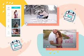 Save The Date Upload Your Own Design Customizable Save The Date Video Templates Animoto