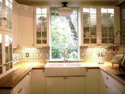 Kitchen Windows Stunning Kitchen Makeover Ideas With Glass Windows And Hanging