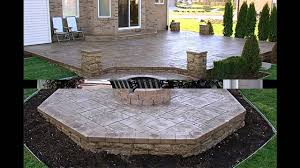 interesting patio raised concrete patio designs designs for building a concrete patio